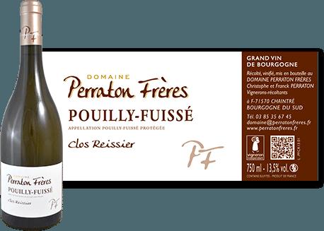 Domaine Perraton Frères - Vin blanc de la Bourgogne du sud